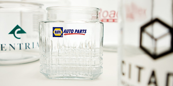 Custom printing on jars